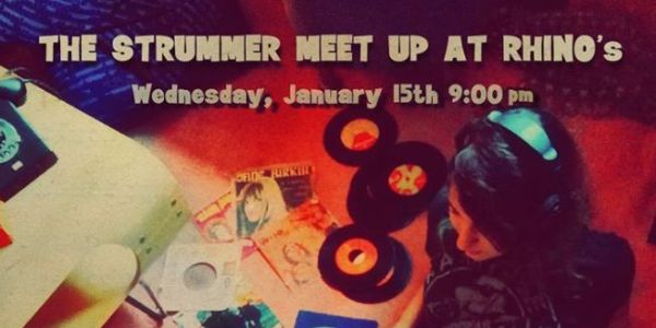 The Strummer Meet Up @ Rhino's - Τετάρτη 15/1